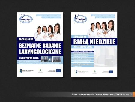 Plakat informacyjny Vitacon
