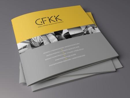 GFKK, folder reklamowy